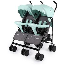 Прогулочная коляска INDIGO Duet (зеленый)