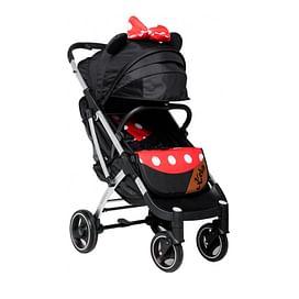 Прогулочная коляска Keka Yoya Plus / 2000000029962 (черно-красный/белая рама)