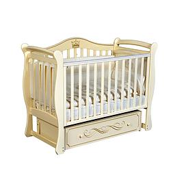 Детская кроватка (слоновая кость) Антел Julia 111/ Кедр Grace 1