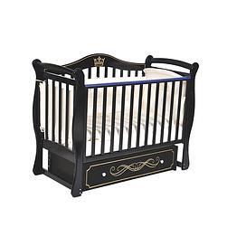Детская кроватка (венге) Антел Julia 111/ Кедр Grace 1