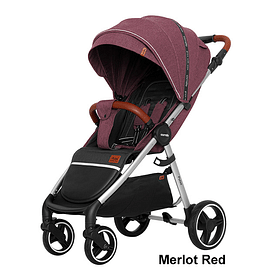 Прогулочная коляска CARRELLO CRL-5507 Pulse (Merlot Red)