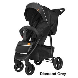Прогулочная коляска Baby Tilly Twist T-164 (Diamond Grey)