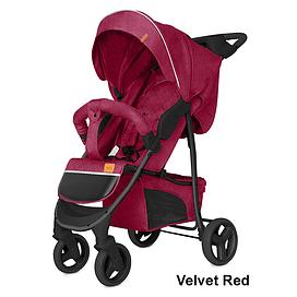 Прогулочная коляска Baby Tilly Twist T-164 (Velvet Red)