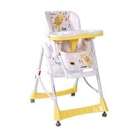 Стульчик для кормления Lorelli GUSTO (Yellow Giraffe)