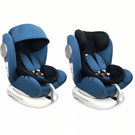 Автокресло Lorelli LUSSO SPS ISOFIX (Blue Black 2019)