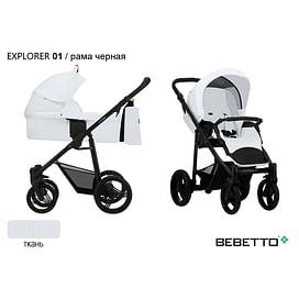 КОЛЯСКА 2 В 1 Bebetto Explorer 01