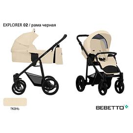 КОЛЯСКА 2 В 1 Bebetto Explorer 02