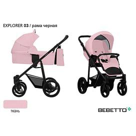 КОЛЯСКА 2 В 1 Bebetto Explorer 03