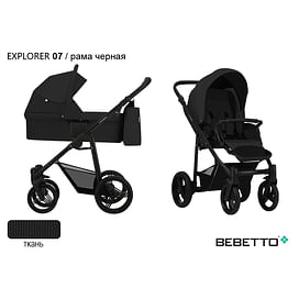 КОЛЯСКА 2 В 1 Bebetto Explorer 07