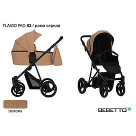 КОЛЯСКА 2 В 1 Bebetto Flavio PRO (100% ЭКОКОЖА) 03