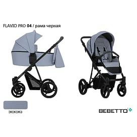 КОЛЯСКА 2 В 1 Bebetto Flavio PRO (100% ЭКОКОЖА) 04
