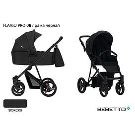 КОЛЯСКА 2 В 1 Bebetto Flavio PRO (100% ЭКОКОЖА) 06