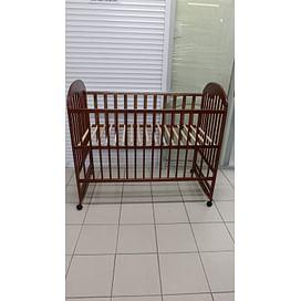 Кроватка детская 120*60 колесо/качалка