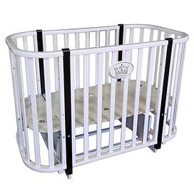 Детская кроватка Ray Milania 2 (белая)
