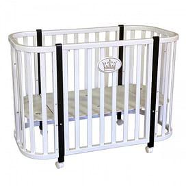Детская кроватка Ray Milania Lux 1 (белая)