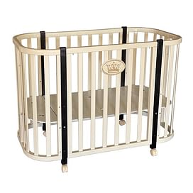 Детская кроватка Ray Milania Lux 1 (слоновая кость)