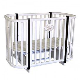 Детская кроватка Ray Milania Lux 2 (белая)