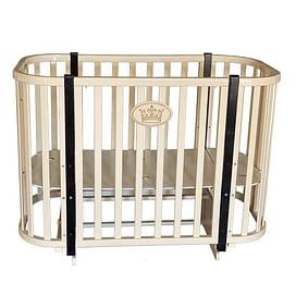 Детская кроватка Ray Milania Lux 2 (слоновая кость)