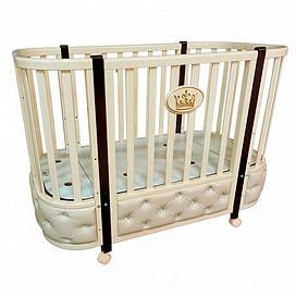 Детская кроватка Ray Milania Premium 1 (слоновая кость)