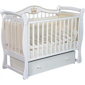 Детская кроватка Ray Elizabeth-1 (белый)