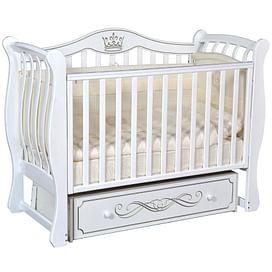 Детская кроватка Ray Elizabeth-2 (белый)