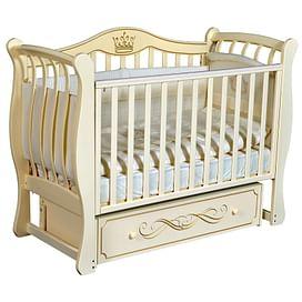 Детская кроватка Ray Elizabeth-2 (слоновая кость)