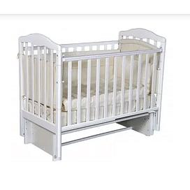 """Кровать детская Ray """"Erika 2"""" автостенка, универсальный маятник (белый)"""
