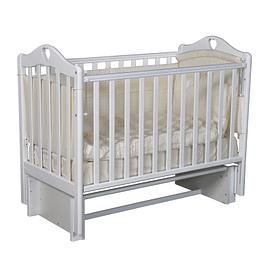 Кровать детская Ray GRACE 2 ( УНИВЕРСАЛЬНЫЙ МАЯТНИК ) (белый)