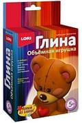 """Игрушка объемная из глины """"Игрушечный мишка"""" Артикул: 76652 LORI"""