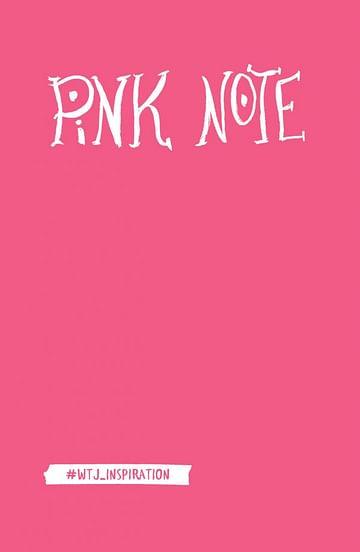 Pink Note. Романтичный блокнот с розовыми страницами (твердый переплет) Артикул: 23429 Эксмо