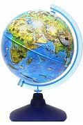 Глобус Зоогеографический (Детский). Диаметр 210мм Артикул: 16907 Глобен Диаметр 210мм