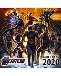 Мстители. Финал. Календарь 2020 (с наклейками). Артикул: 69741 АСТ .