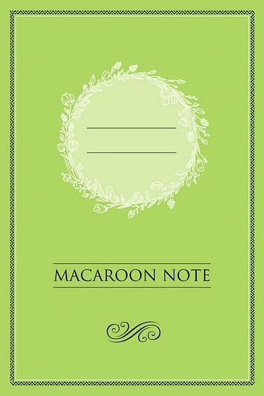 Блокнот с цветными страницами (фисташка, мягкая обложка, линовка, на скобе) Артикул: 59956 Эксмо