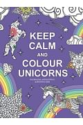 Keep calm and color unicorns Артикул: 53194 Эксмо