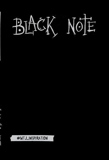 Black Note. Креативный блокнот с черными страницами (твердый переплет) Артикул: 11533 Эксмо