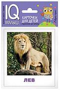 Умный малыш. Животные жарких стран. Набор карточек для детей. Артикул: 85855 Айрис-пресс Ходюшина Н.П.