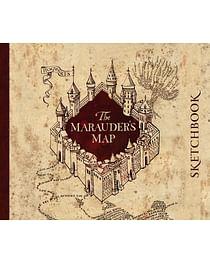 Скетчбук. Гарри Поттер. Карта мародеров (твердый переплет, 96 стр., 240х200 мм). Артикул: 46297 Эксмо