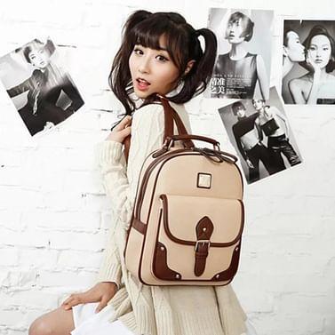 Рюкзак женский модель 459 (крем)