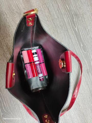 Сумка женская модель 470 (бордовый)