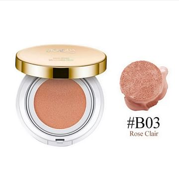 Кушон - тональный BB крем Exquisite & Delicate / Кушон с запасным сменным блоком 15+15g. Clair Rose.