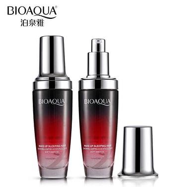 Увлажняющая сыворотка для волос с эфирным маслом розы Wake Up Sleeping Hair Bioaqua