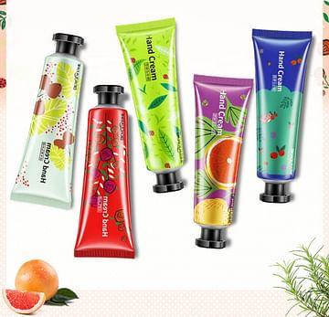 Набор парфюмированных кремов для рук, 5 шт х 30 гр Bioaqua