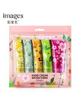 Набор парфюмированных кремов для рук, 5 шт х 30 гр IMAGES