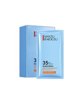 Защитный крем от солнца в сашетках 35SPF Sunscreen SPF35 (2г*15шт) универсальный SIAYZU RAIOCEU