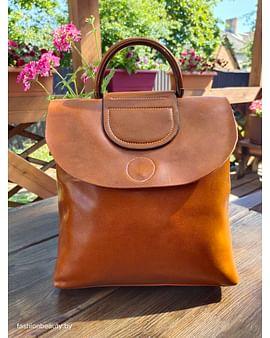 Рюкзак из натуральной кожи модель 00061(карамель)