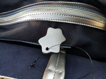 Сумка шоппер из натуральной кожи модель 00099