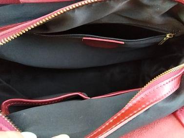 Сумка шоппер из натуральной кожи модель 00101