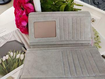 Портмоне из натуральной кожи c RFID защитой модель 00111