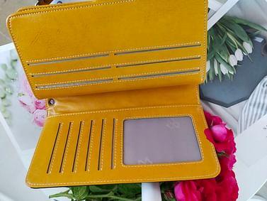 Портмоне из натуральной кожи c RFID защитой модель 00114