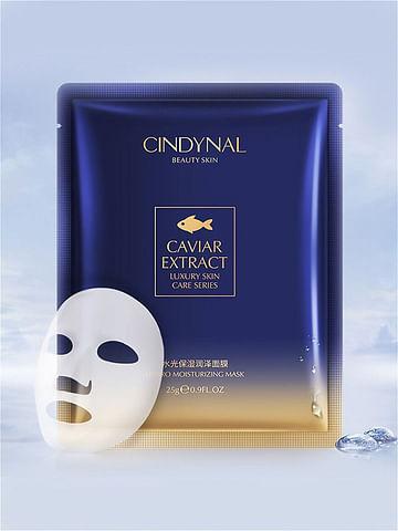 Антивозрастная маска для лица с экстрактом икры CINDYNAL